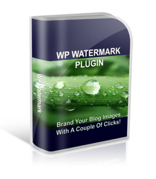 Product picture WP Watermark Plugin, PLR