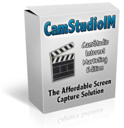 Product picture CamStudio IM Screen Capture Software Master Resell Rights