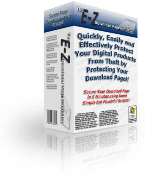 Product picture E-Z Easy Download Protection Script - Master Resell Rights